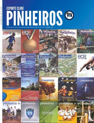 ANO 17 • Nº 200 • DEZEMBRO 2014 Publicação oficial mensal do Esporte Clube  Pinheiros  20da9173a5e8d