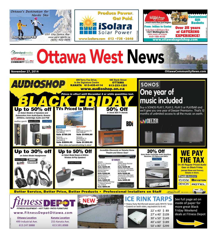 Ottawawest112714 by metroland east ottawa west news issuu fandeluxe Images