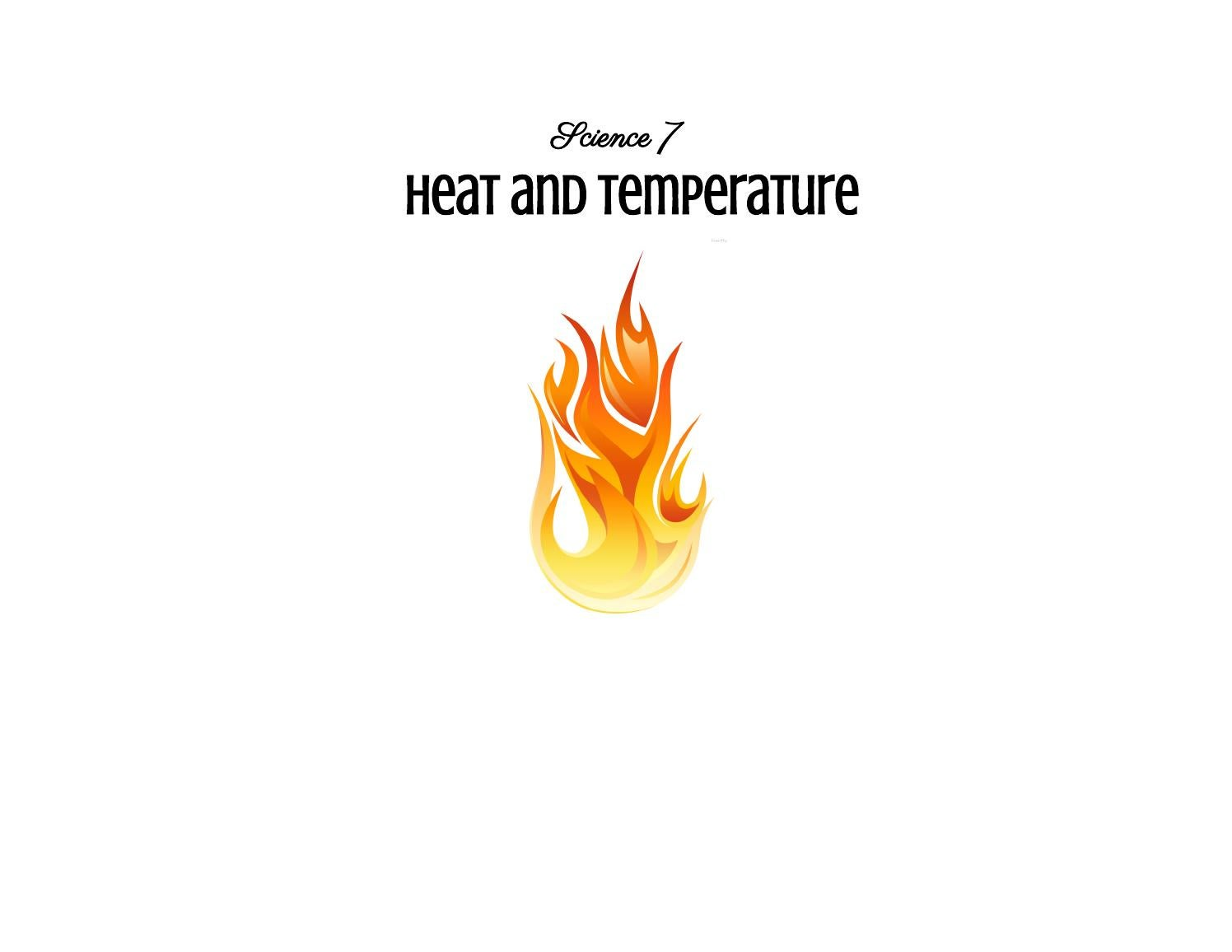 worksheet Heat And Its Measurement Worksheet Answers science unit plan grade 7 heat and temperature by laura friesen issuu
