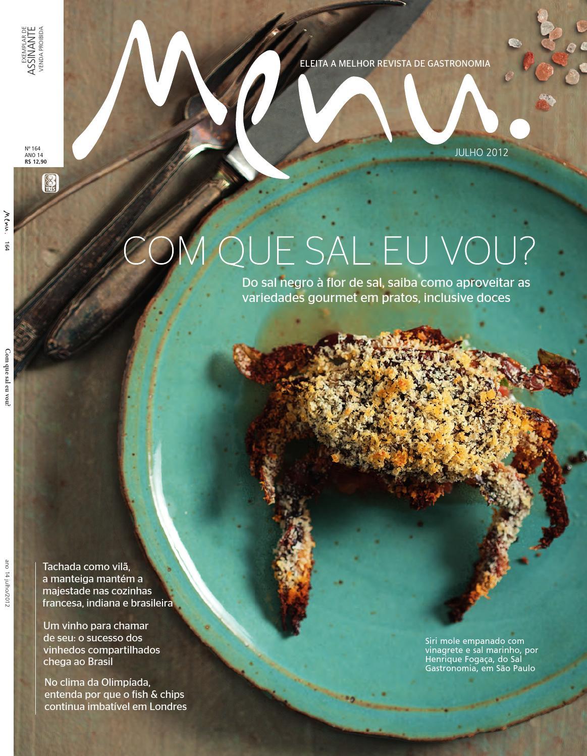 ad7dbcaef Revista Menu 164 by Editora 3 - issuu