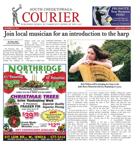 e9b5f9fd1 South cheektowaga courier 11 30 2014 by Community Papers of WNY - issuu