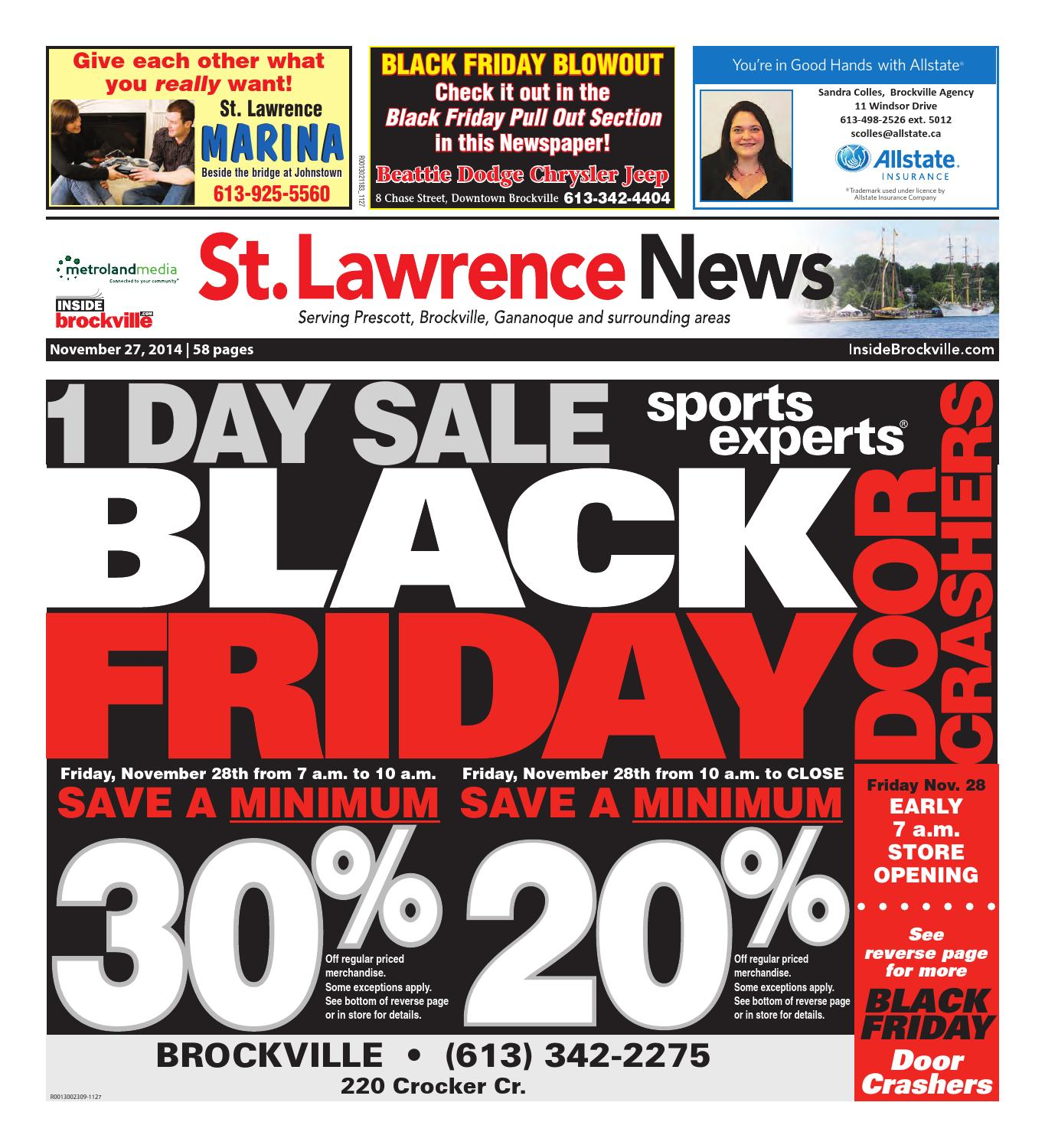 Stlawrence112714 by Metroland East St. Lawrence News issuu