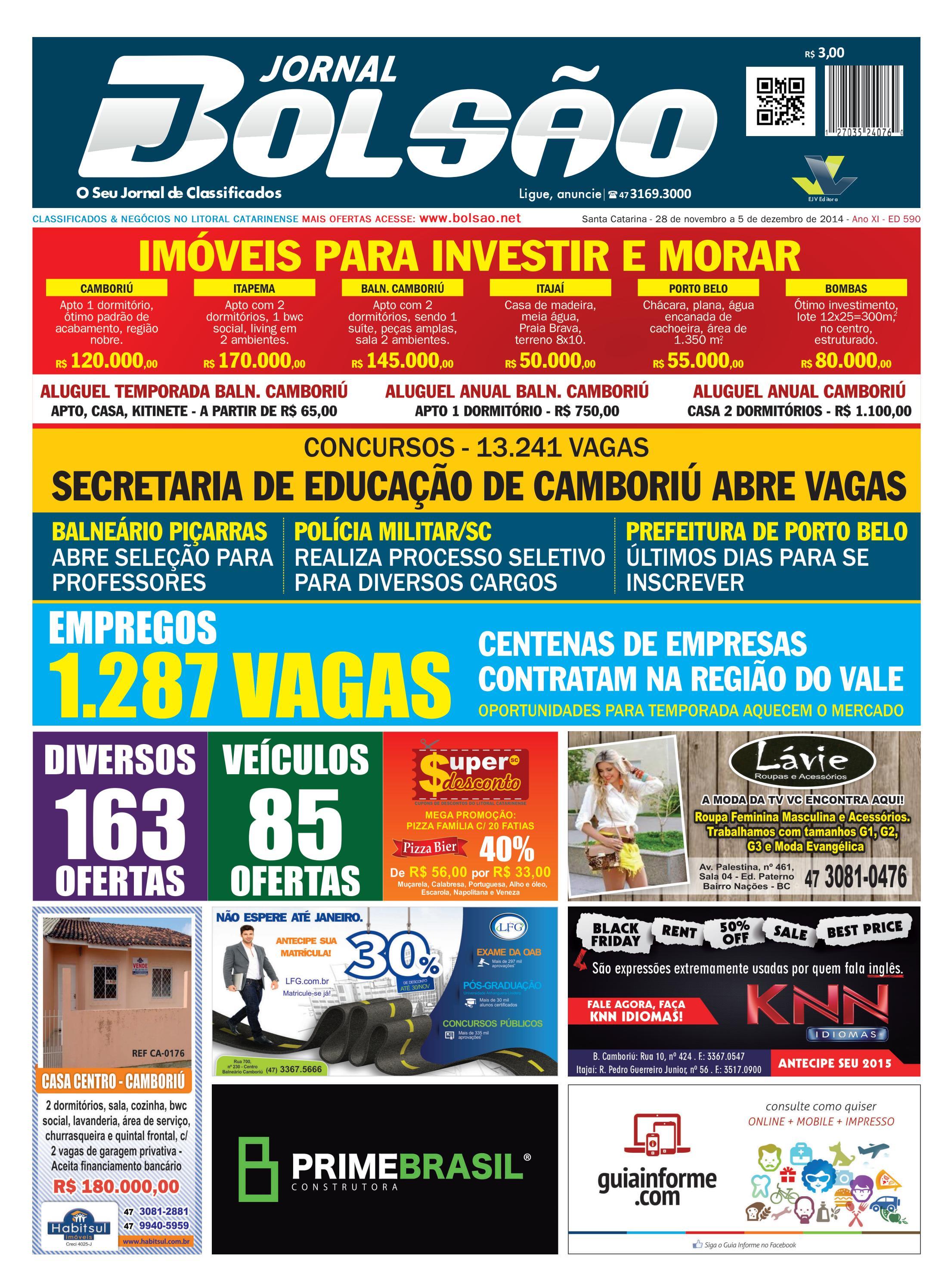 590 by Bolsão Jornal - issuu 851594a2d1