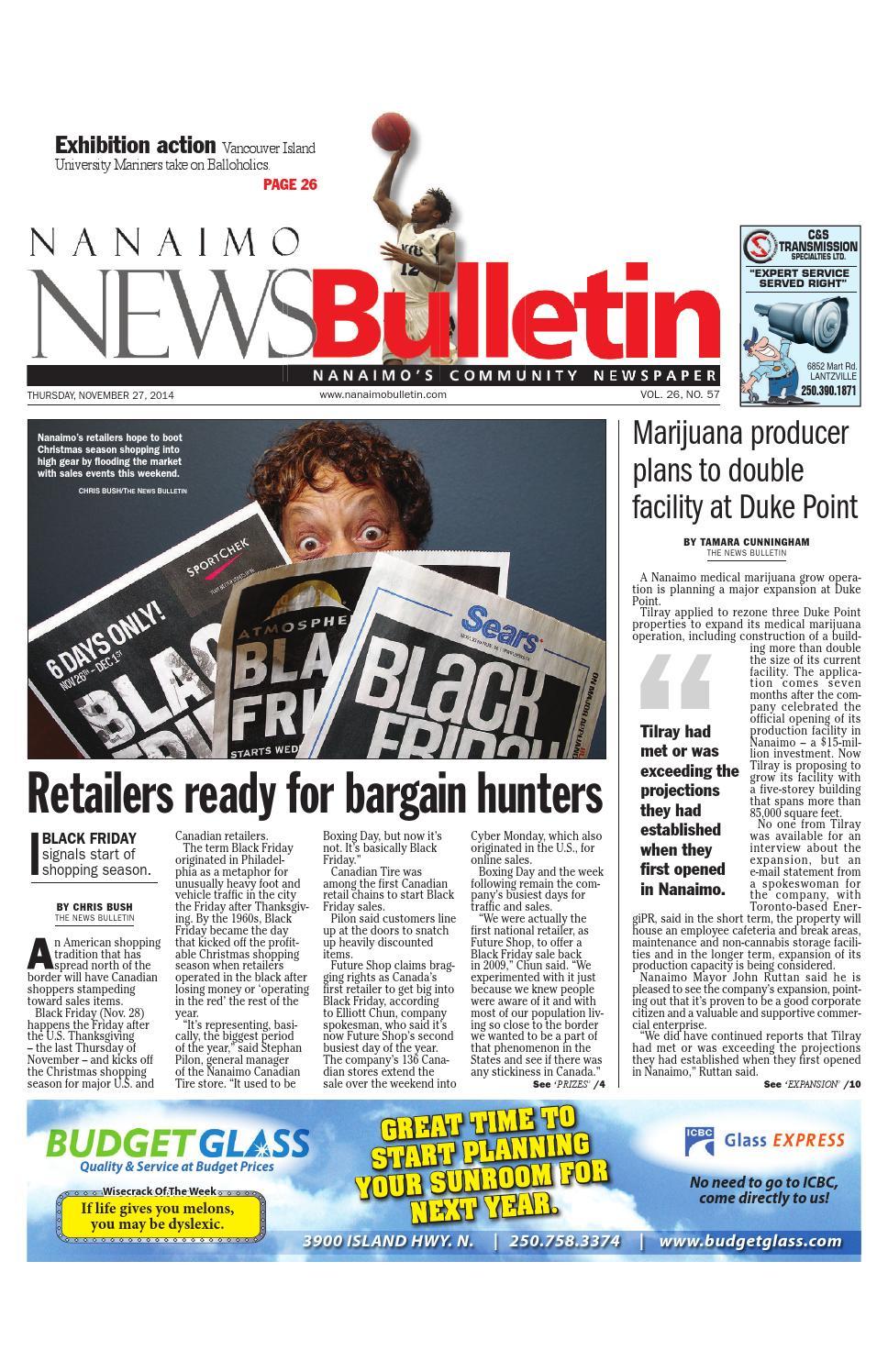 Bathmaster Nanaimo nanaimo news bulletin, november 27, 2014black press - issuu