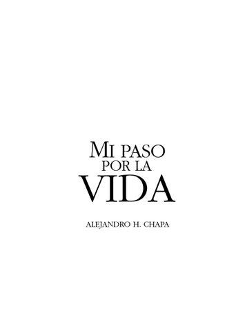 Mi paso por la vida by Oscar Flores - issuu
