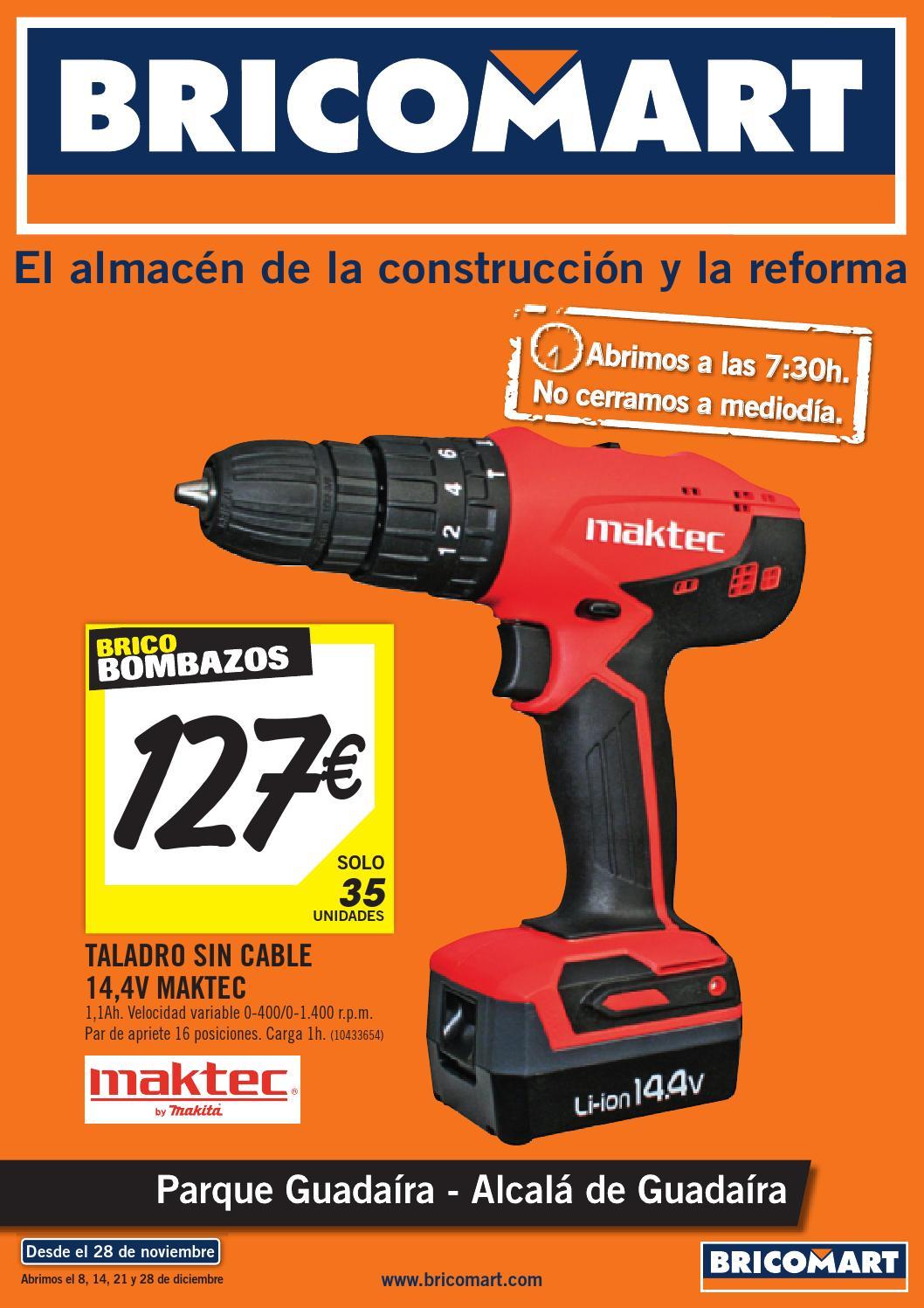 Bricomart folleto sevilla alcala guadaira 24 11 2014 by - Puertas plegables bricomart ...