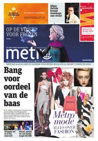 6e0e1b40b9ef11 20141128 nl amsterdam by Metro Netherlands - issuu