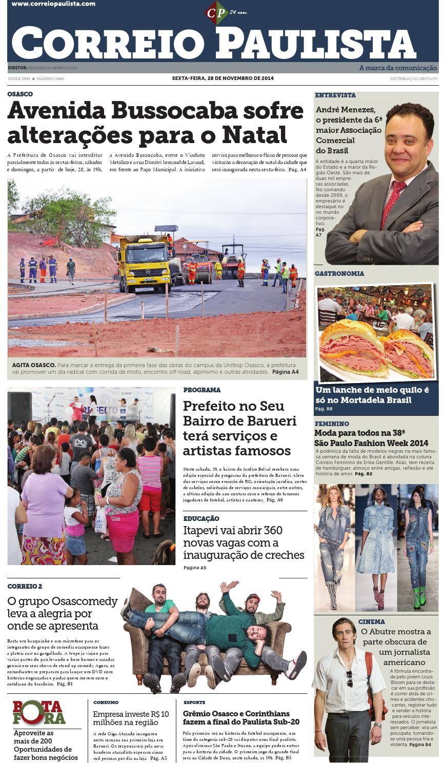 68a1b44fac699 jornal Correio Paulista 1160 by Jornal Correio Paulista - issuu