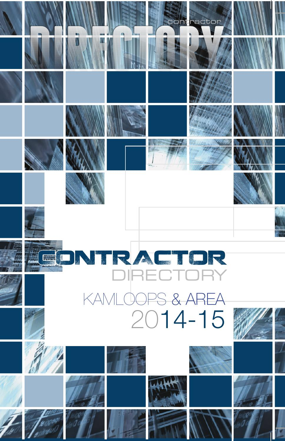 Kamloops Contractor By Thompson River Publications Issuu
