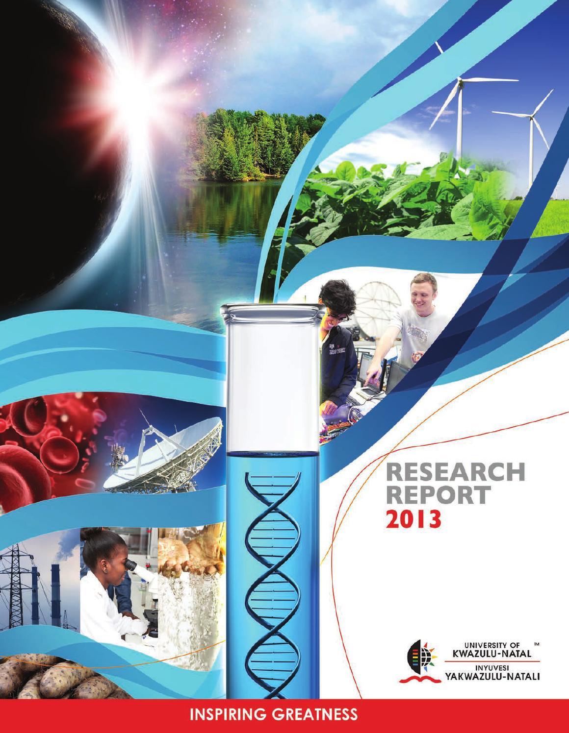 Ukzn Research Report 2013 By Muhongya Issuu