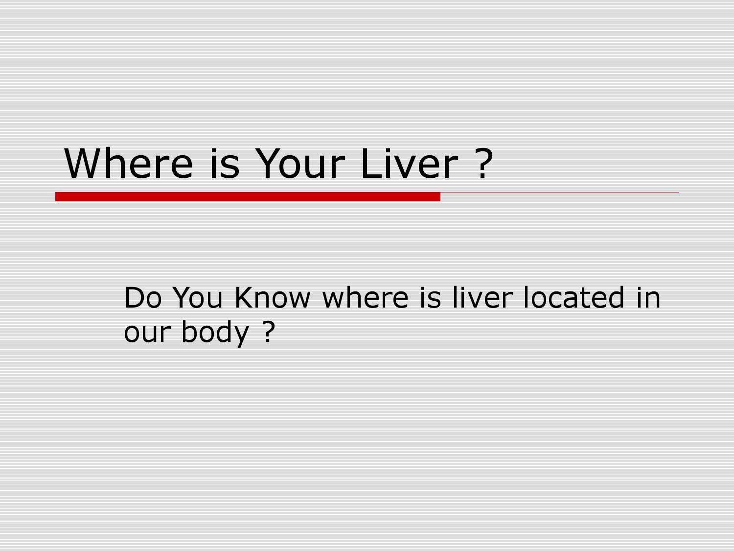 Where Is Your Liver By Trustinfood Issuu