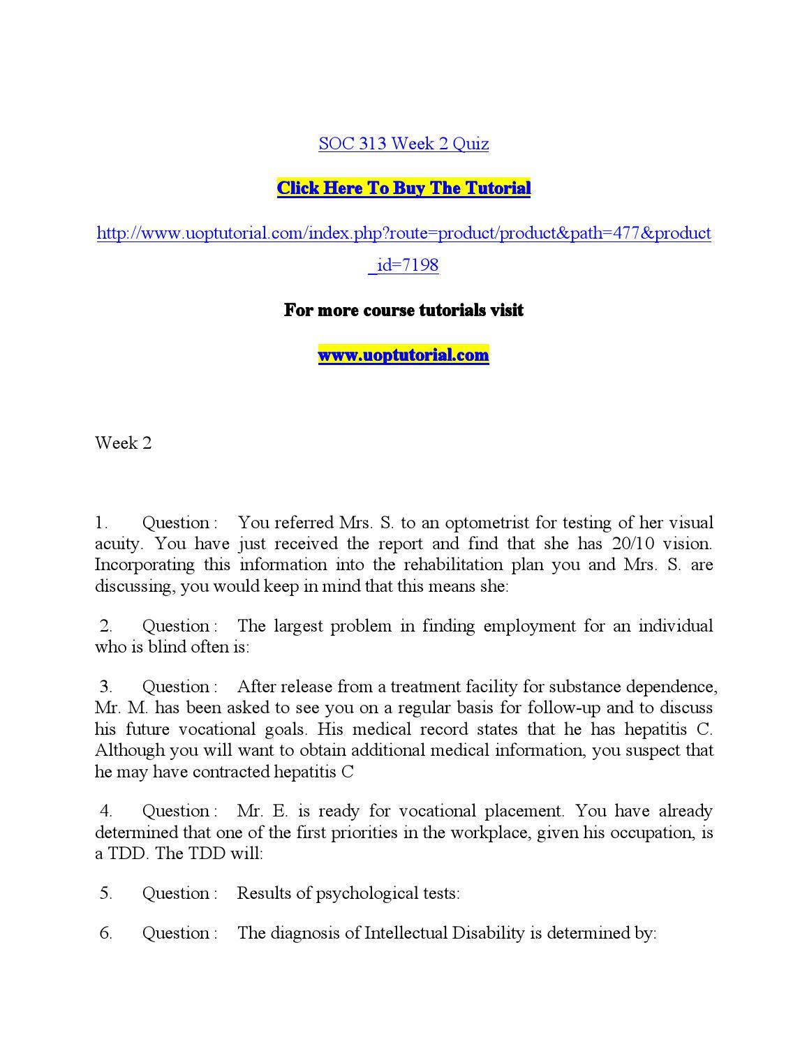 TLMT 313 Quiz 2