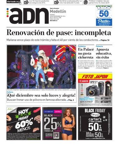 28 de noviembre Medellín by Diario ADN - issuu 9c5ca4afd2c81