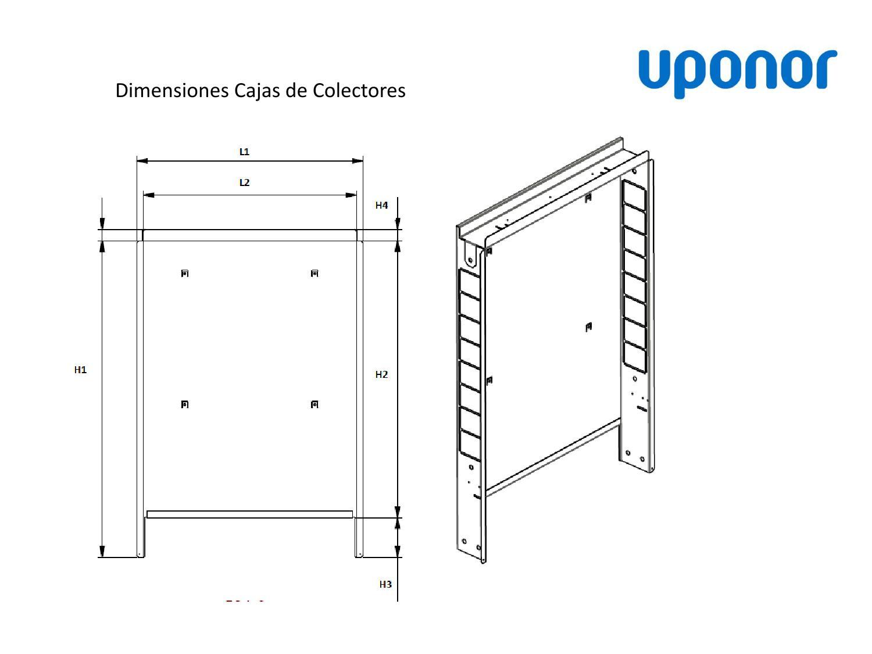 Instrucciones dimensiones cajas de colectores suelo radiante 2011 by ...