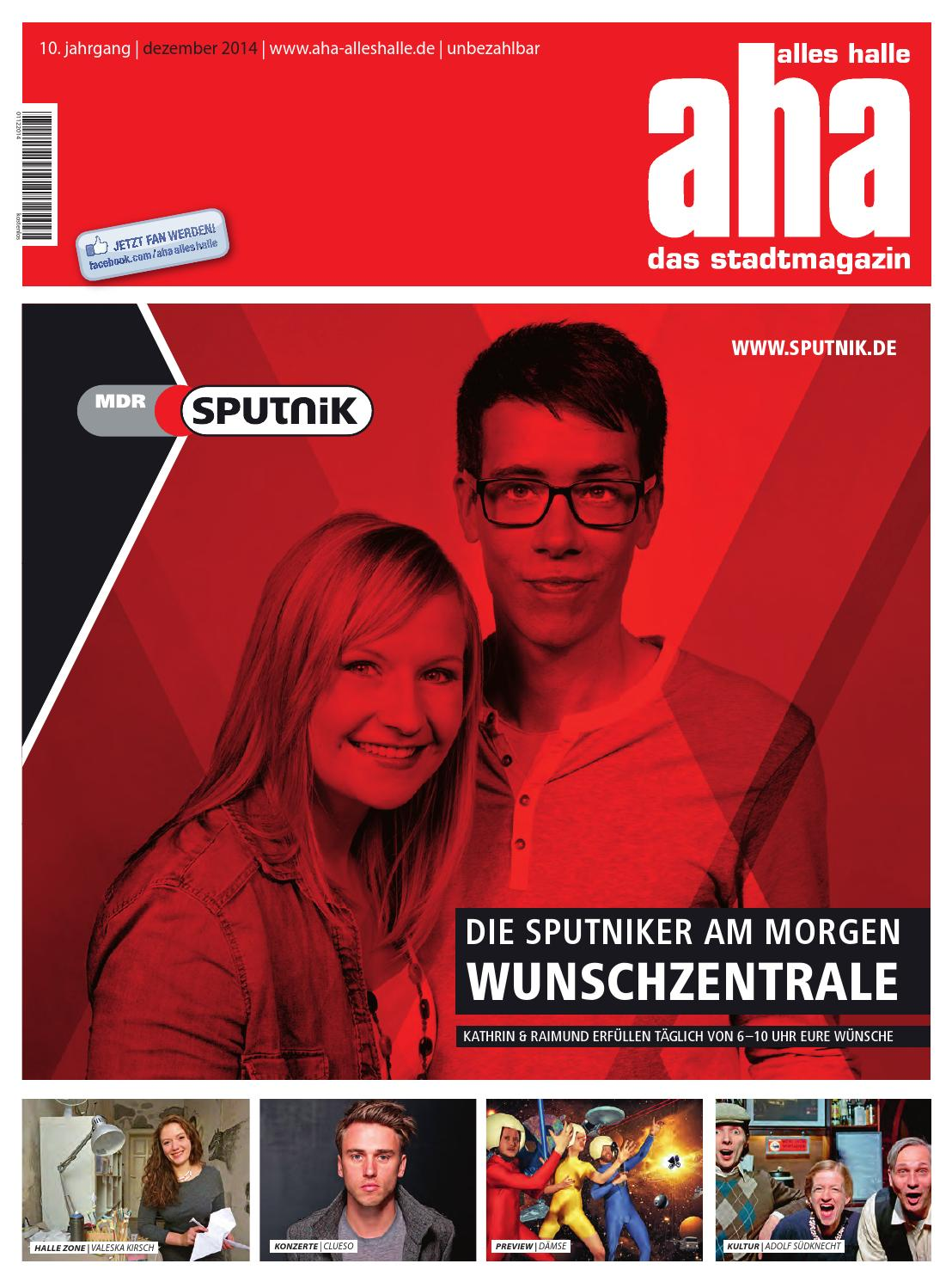 Dezember 2014 | aha - alles halle by Mediengruppe Mitteldeutsche ...