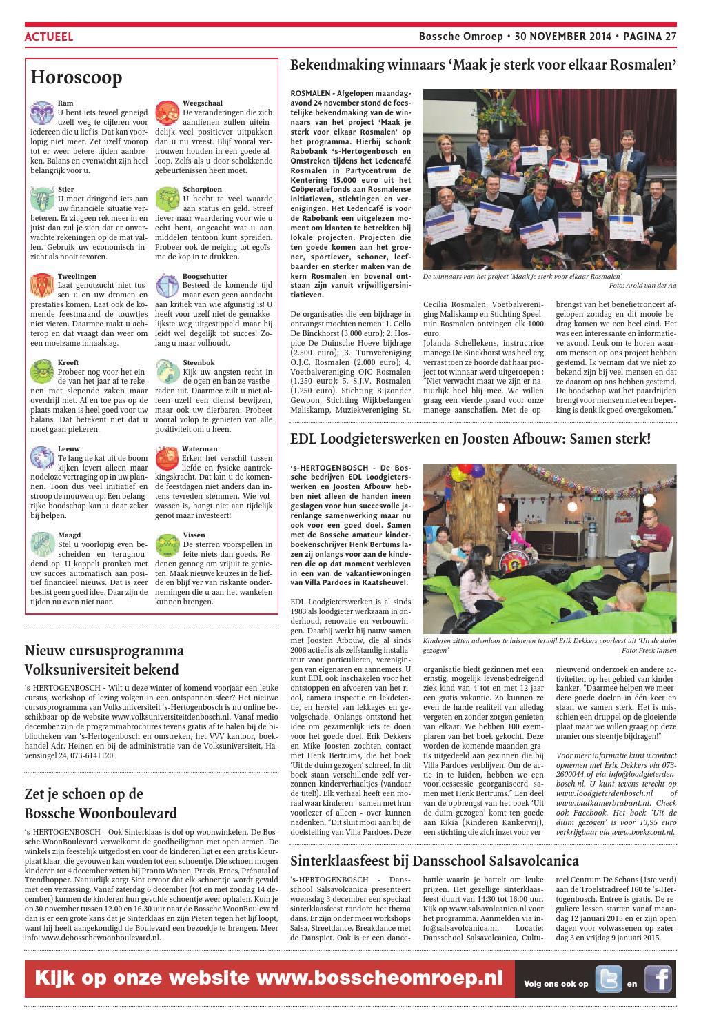 Kleurplaten En Zo Op De Manege.Bo Week48 2014 By De Persgroep Nederland Issuu