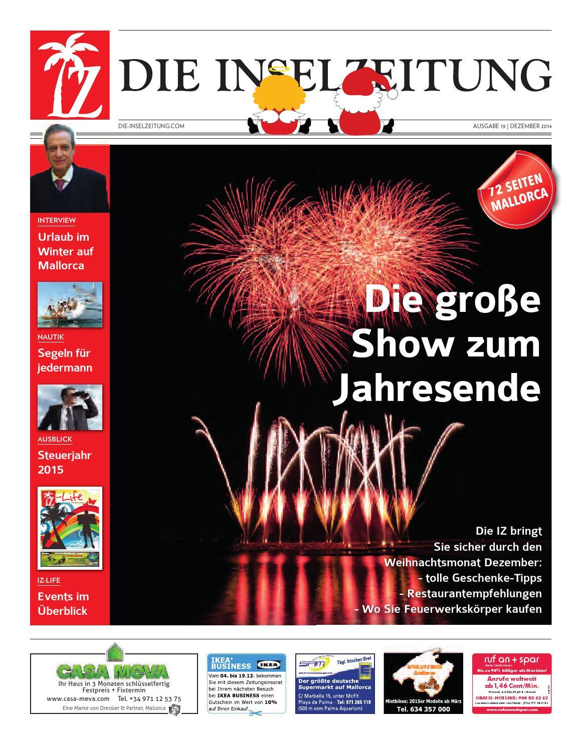 Die Inselzeitung Mallorca Dezember 2014 by Die Inselzeitung Mallorca ...