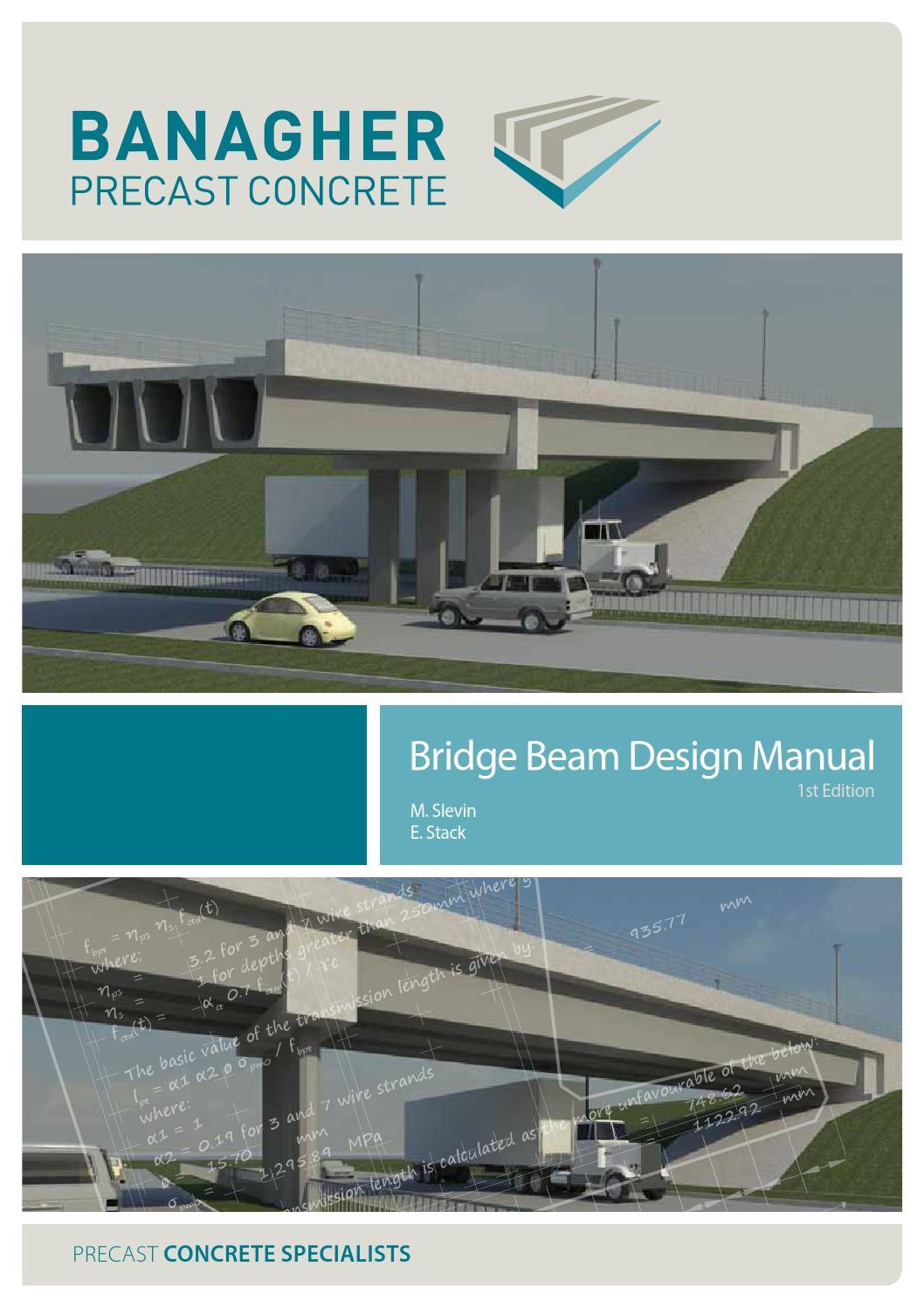 Banagher Concrete Design Manual By Precast Issuu Shear Force Diagram Udl