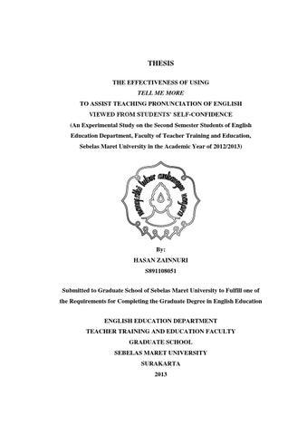 dissertation on training evaluation