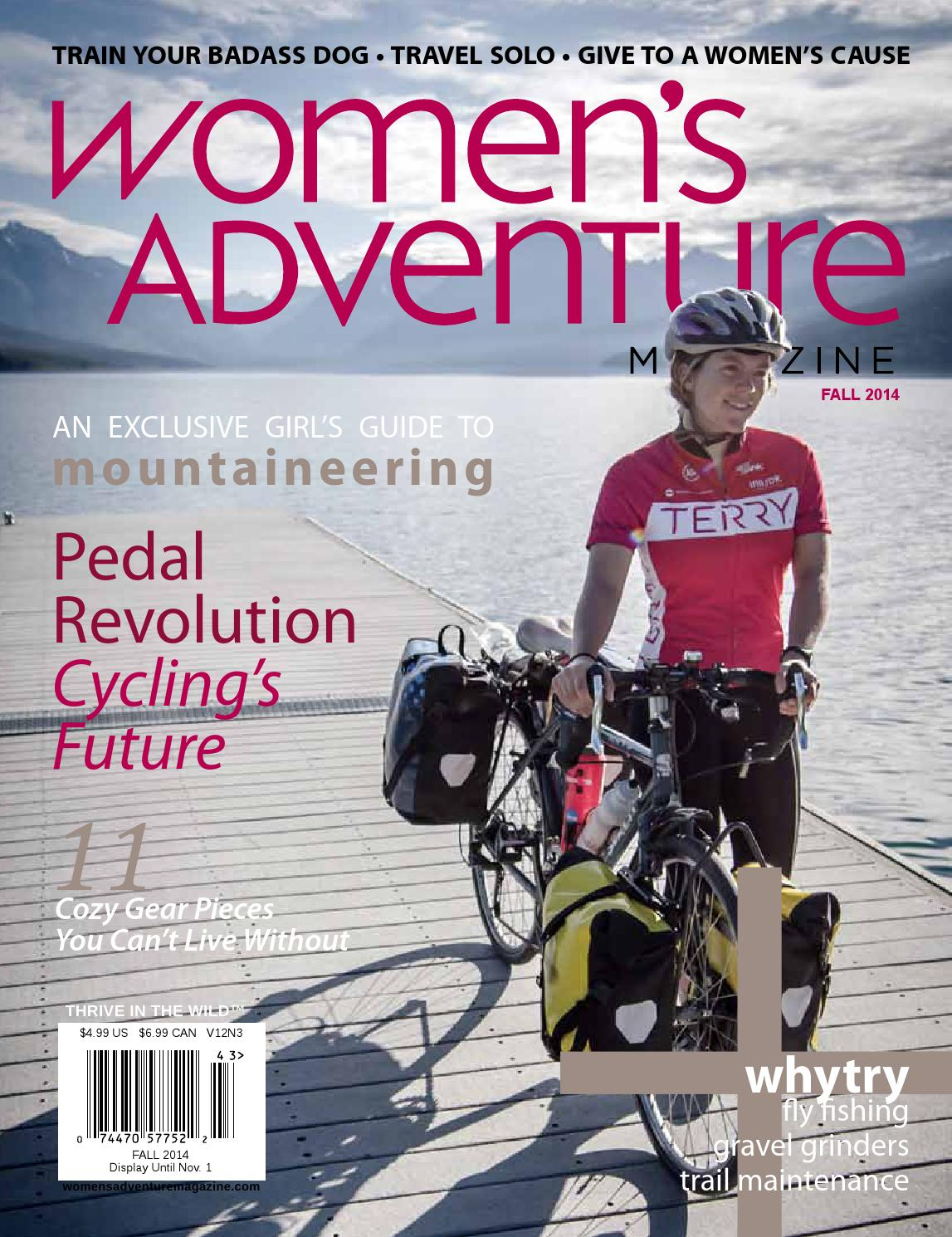 6b3788cdb Women s Adventure Fall 2014 by Women s Adventure Magazine - issuu