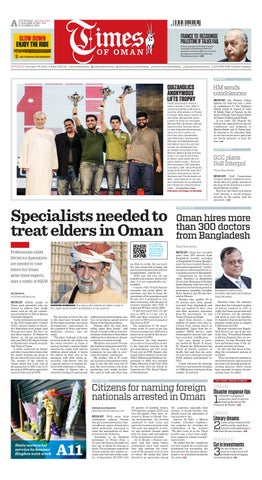 75d23be0c5 Times of Oman - November 29, 2014 by Times Oman - issuu