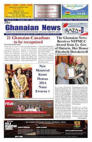 Delightful Ghanaian News November 2014 Edition By Razak Ray Axe Banks   Issuu