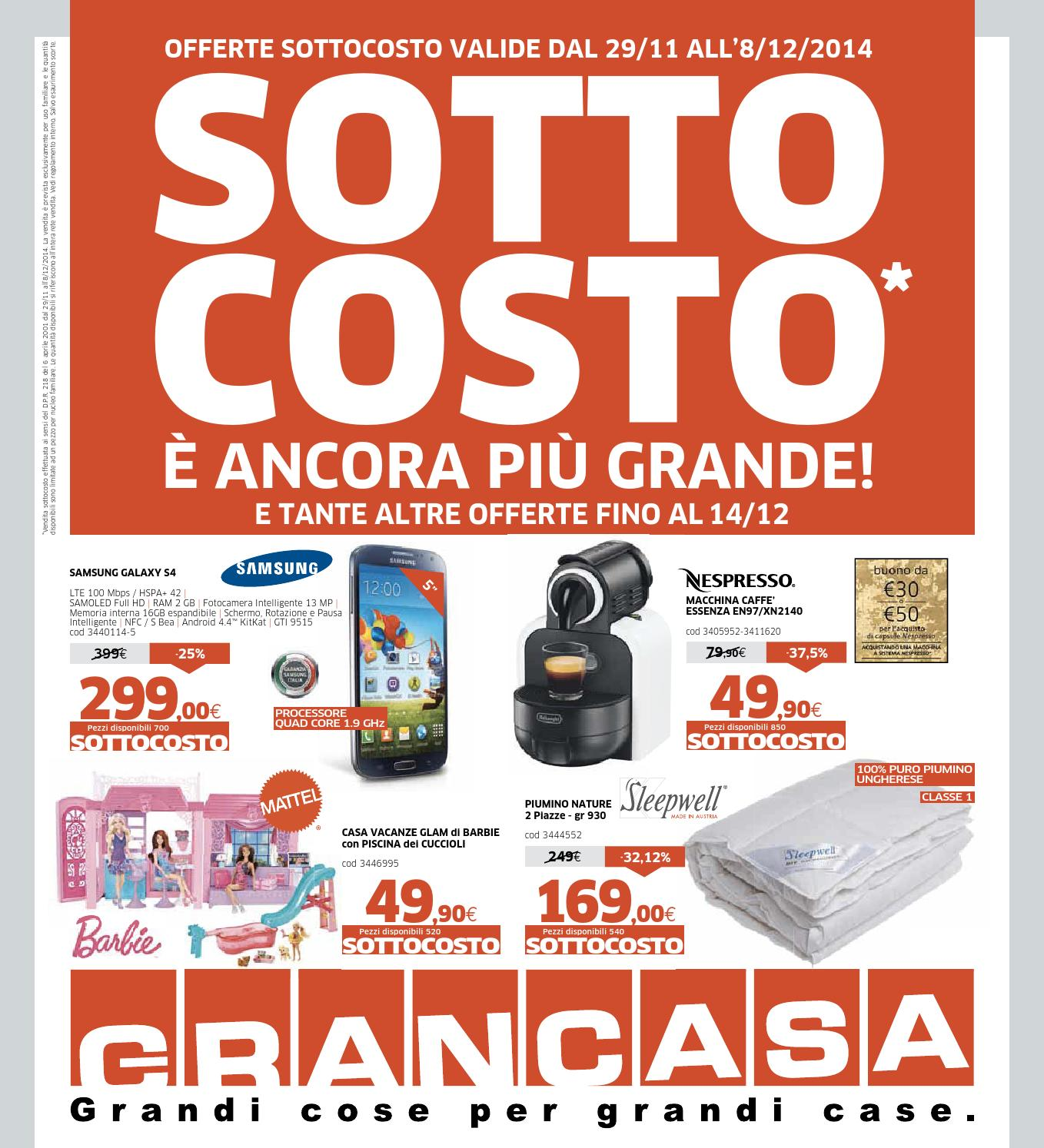 grancasa 8dic by volavolantino - issuu - Grancasa Mantova Volantino