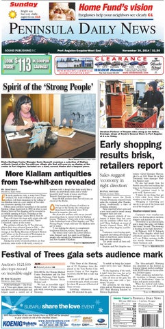1bde4a2fd4 PDNN20141130C by Peninsula Daily News   Sequim Gazette - issuu