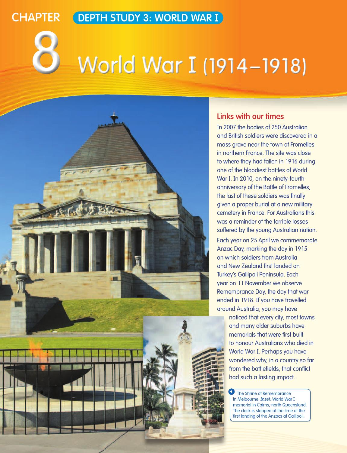 world war one study guide The great war explores how a brilliant pr man engaged in a new kind of war, one that had he was the best man to guide america through a dangerous world.
