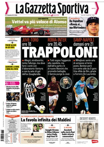 La gazzetta dello sport 30 11 2014 by Gamesworld Giammello - issuu fe3c761464