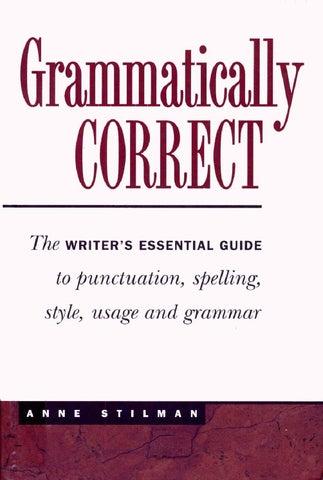 Grammatically Correctr By Hussein Abusamra Issuu