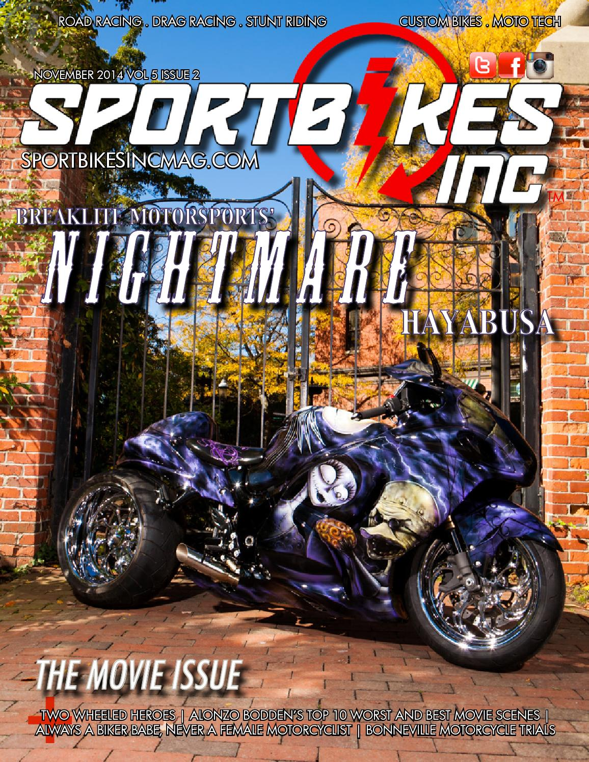 Sportbikes Inc Magazine November 2014 By Hard Knocks Motorcycle Com O View Topic Hayabusa Wiring Diagram 2005 2006 Modifications Entertainment Issuu