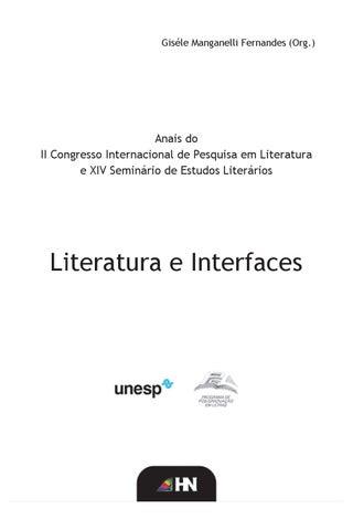Anais do II Congresso Internacional de Pesquisa em Literatura e XIV ... 7cffd60698f76