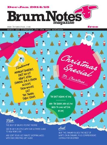 Brum Notes Magazine - December 2014 by Brum Notes Magazine - issuu 53583275f2d4