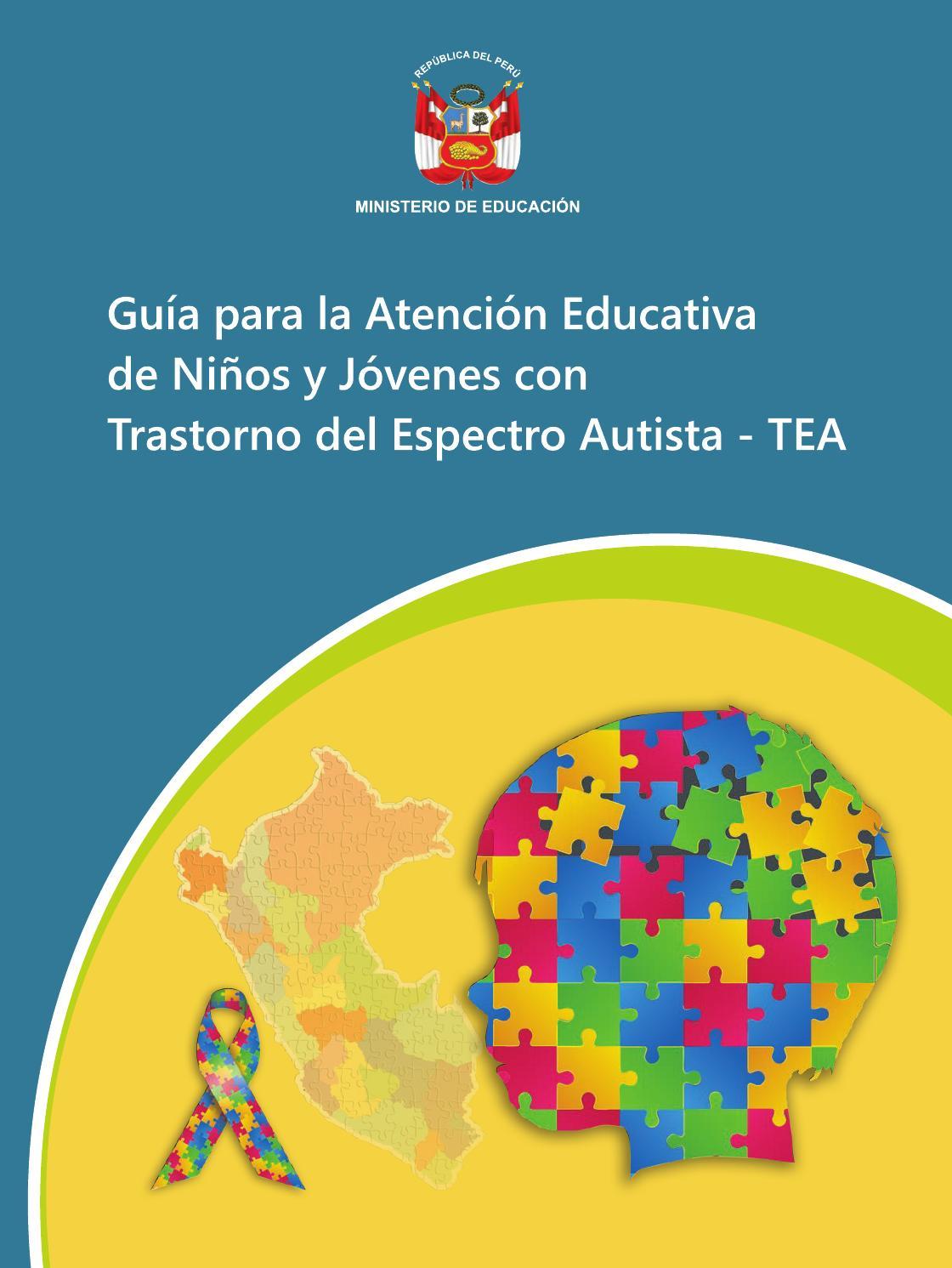 Guía para la atención educativa de niños y jóvenes con tea (min ...