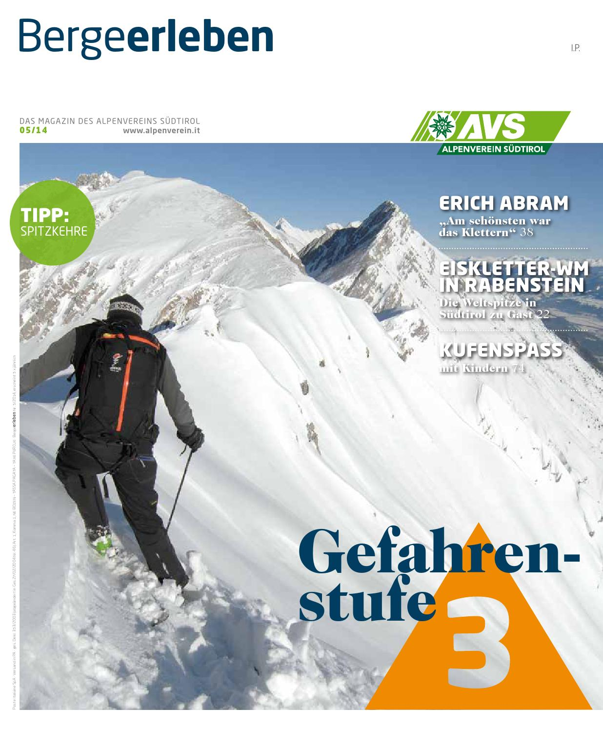 Bergeerleben AVS Magazin November 2014 by Alpenverein