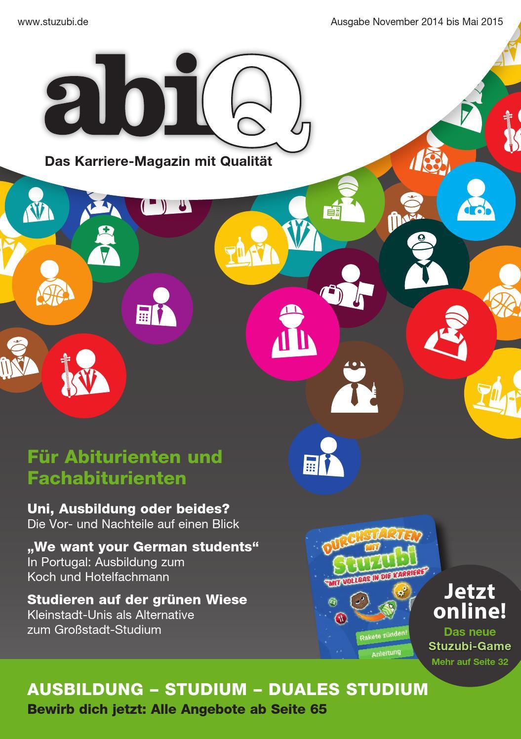 abiQ 2014-2 für Hamburg, Schleswig-Holstein, Bremen, Niedersachsen by  Stuzubi - issuu