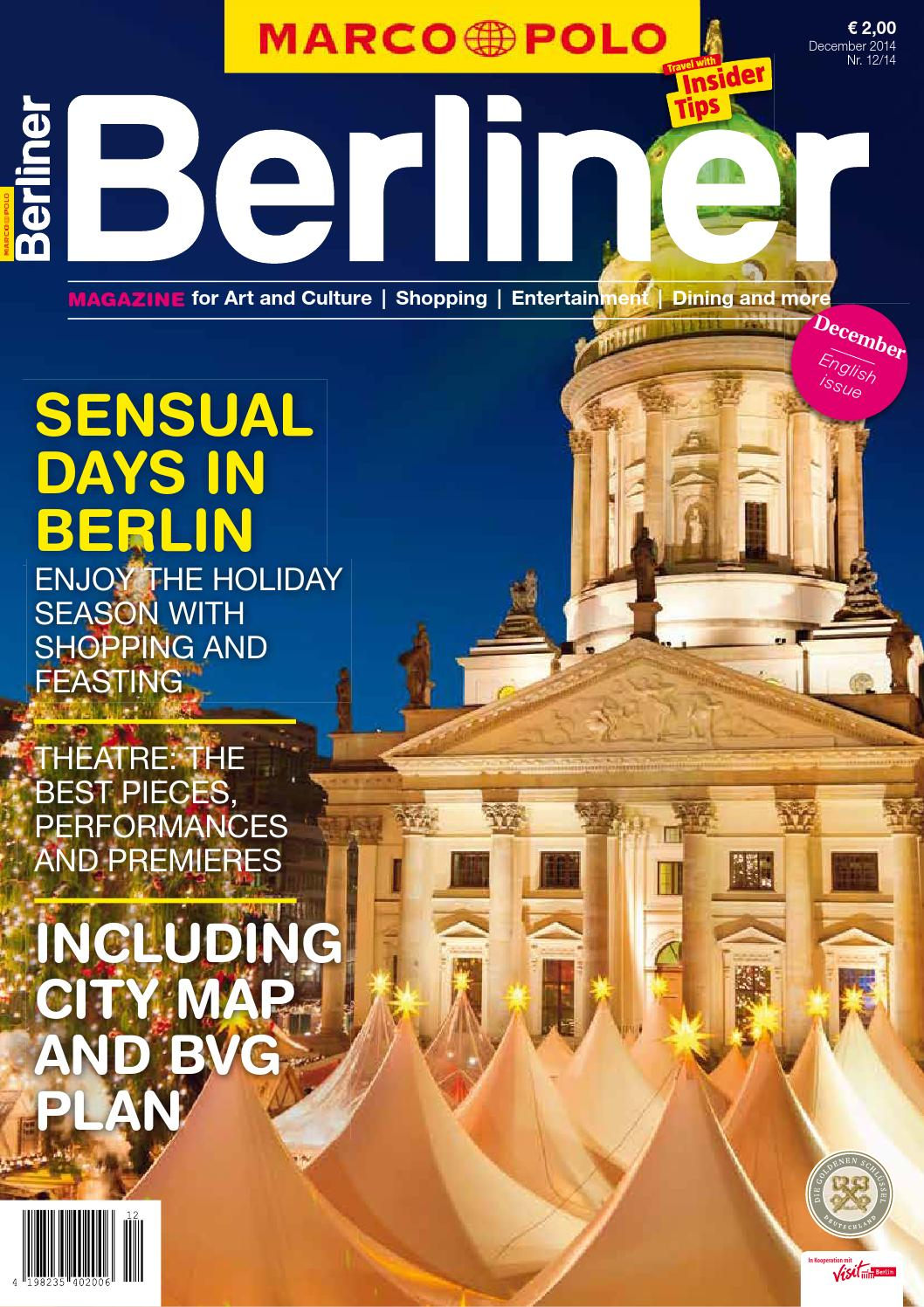 English - MARCO POLO BERLINER 12/14 by Berlin Medien GmbH - issuu