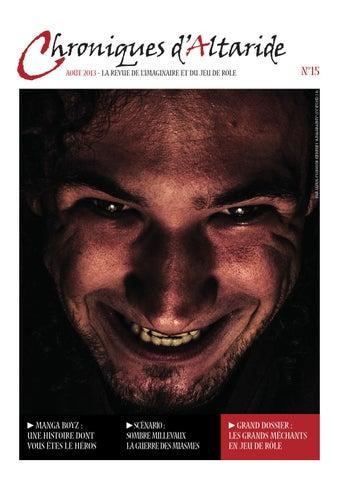 Chroniques d Altaride n°015 août 2013 les grands méchants by ... 7b3e9695562e