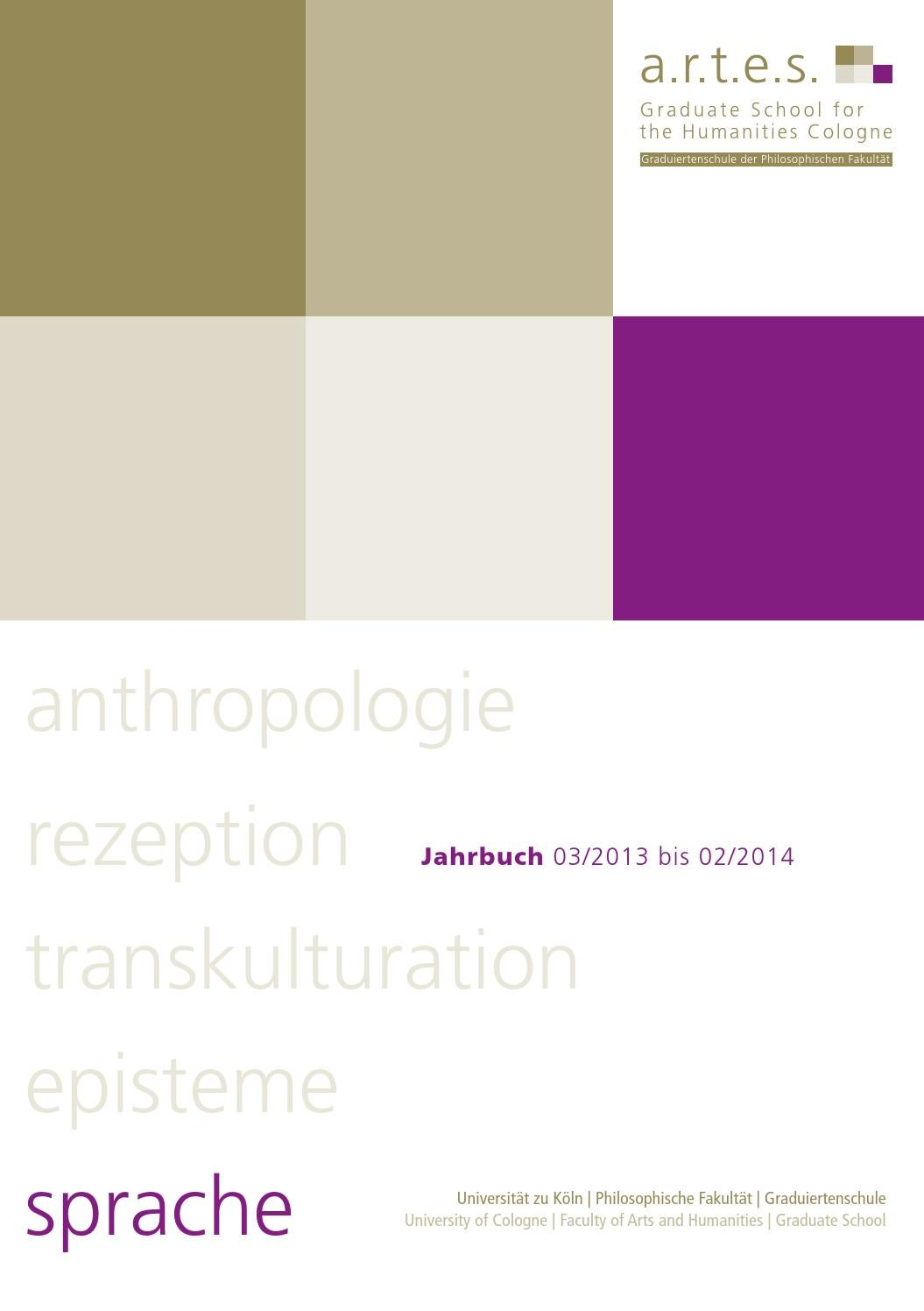 Jahrbuch der a.r.t.e.s. Graduate School for the Humanities Cologne ...