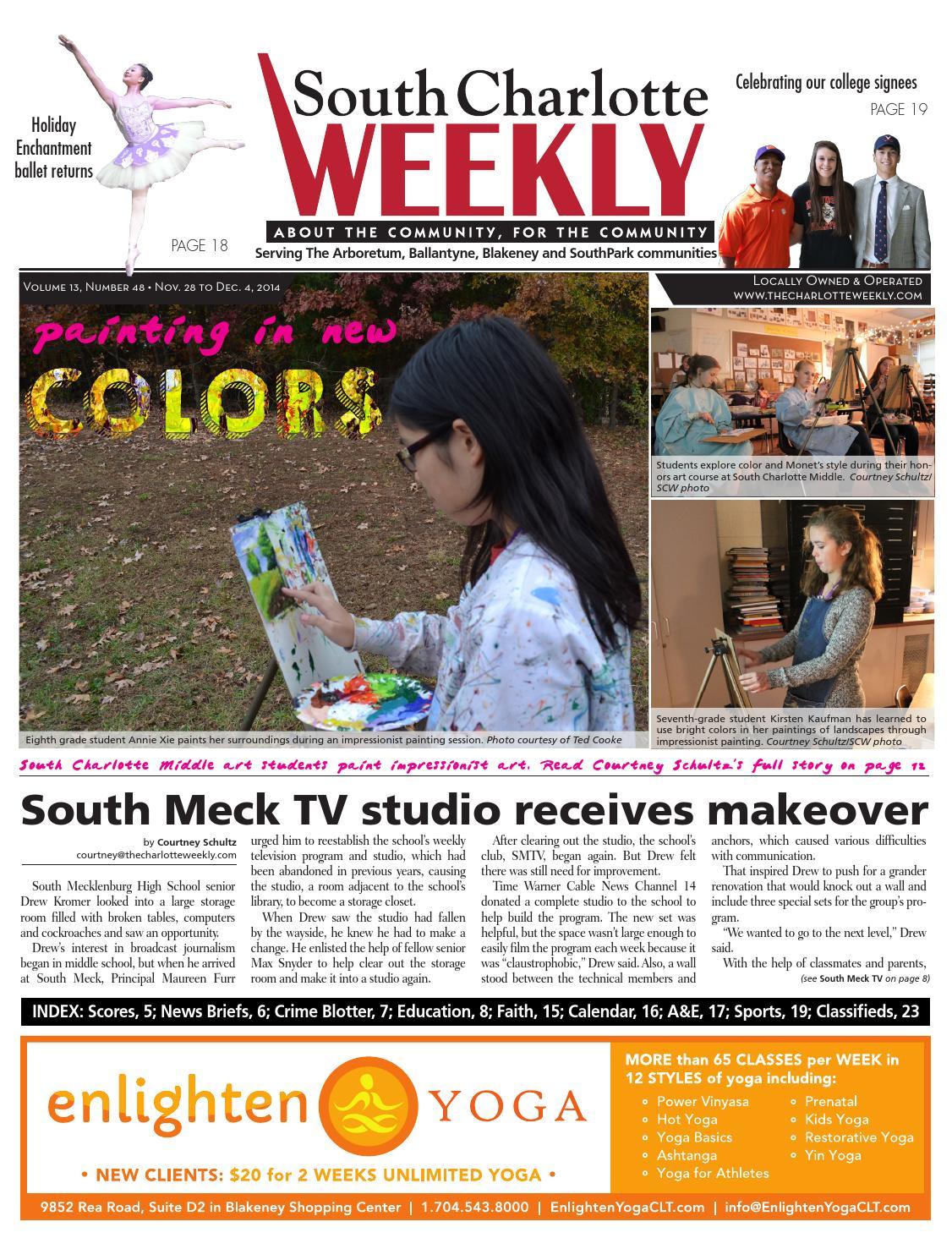 South Charlotte Weekly By Carolina Weekly Issuu - Ashley furniture pineville nc