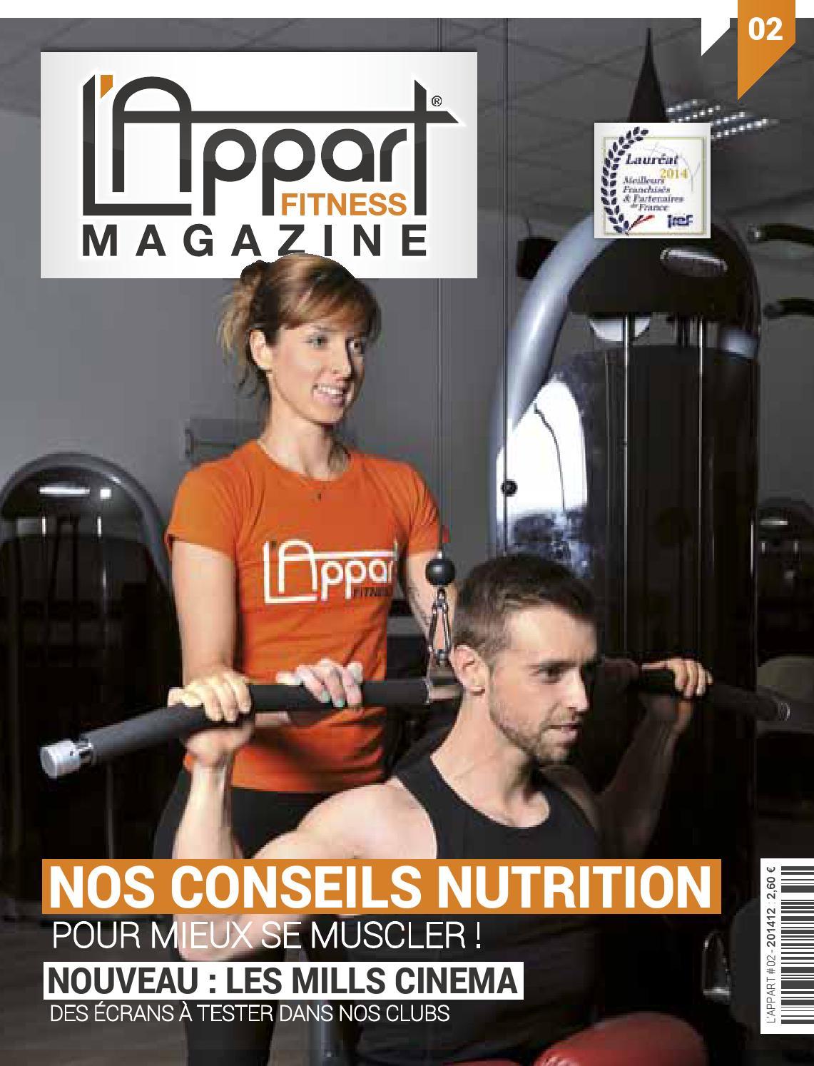 L Appart Fitness Magazine 02 By Mog Design Issuu