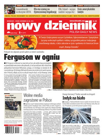 5f6f6d610 Nowy Dziennik 2014/11/26 by Nowy Dziennik - issuu