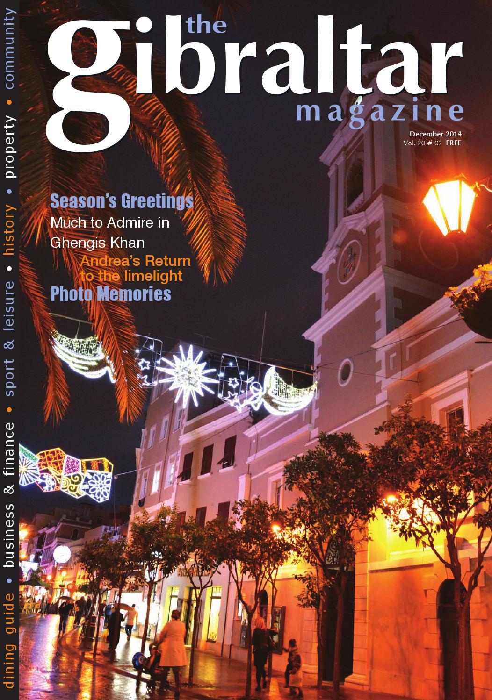 The Gibraltar Magazine - December 2014 by Rock Publishing Ltd - issuu