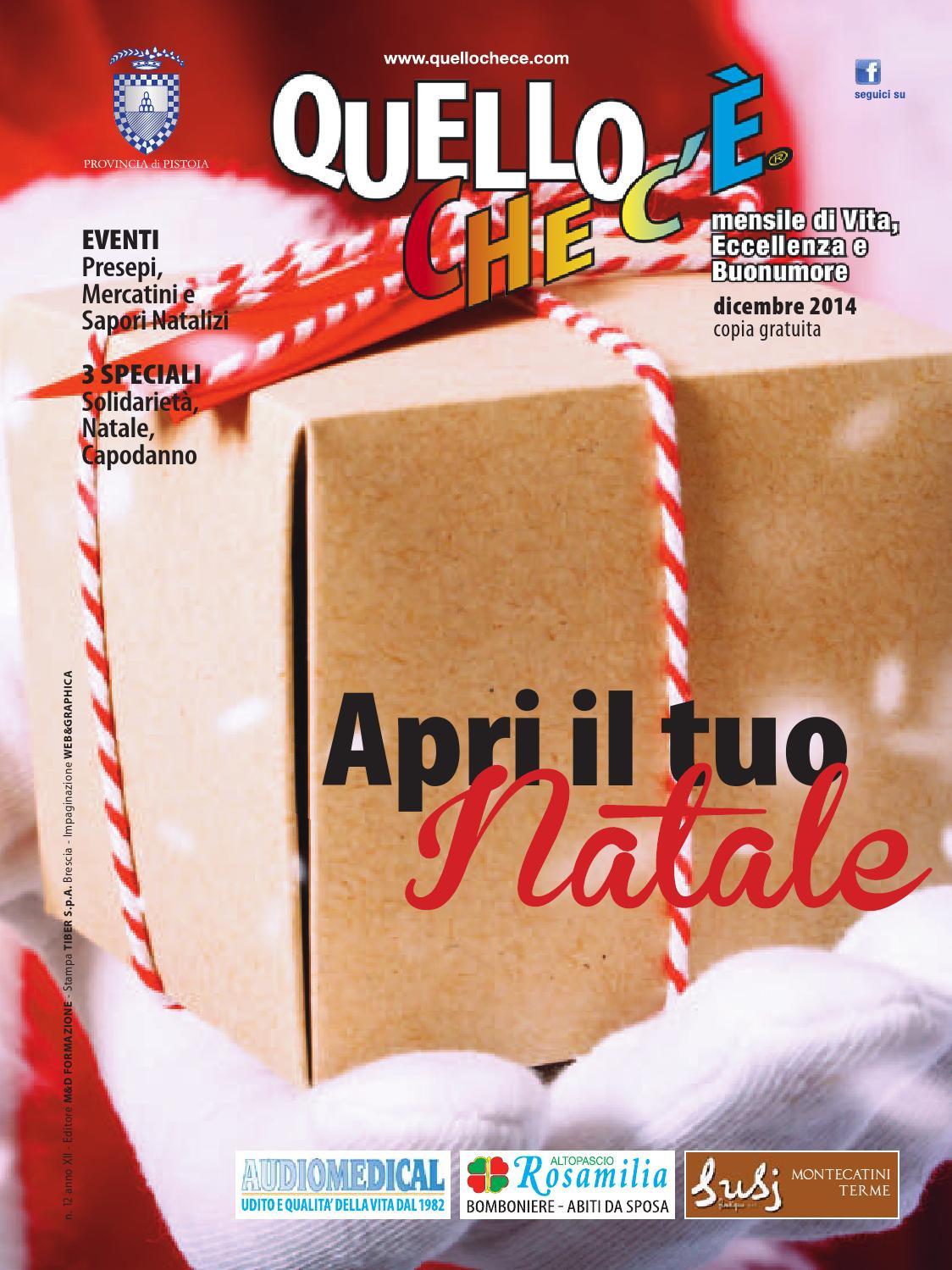 Quello che c è - Dicembre 2014 by quellochece.com - issuu c6a1b06fd8f