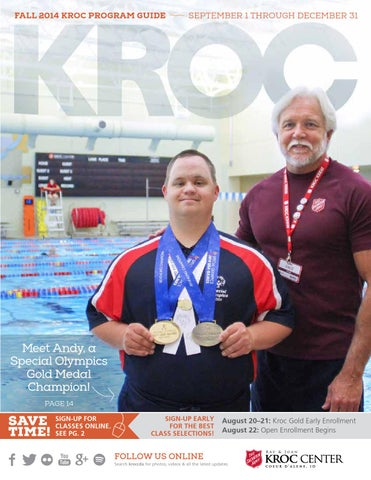 The Salvation Army Kroc Center 2014 Fall Program Guide By The