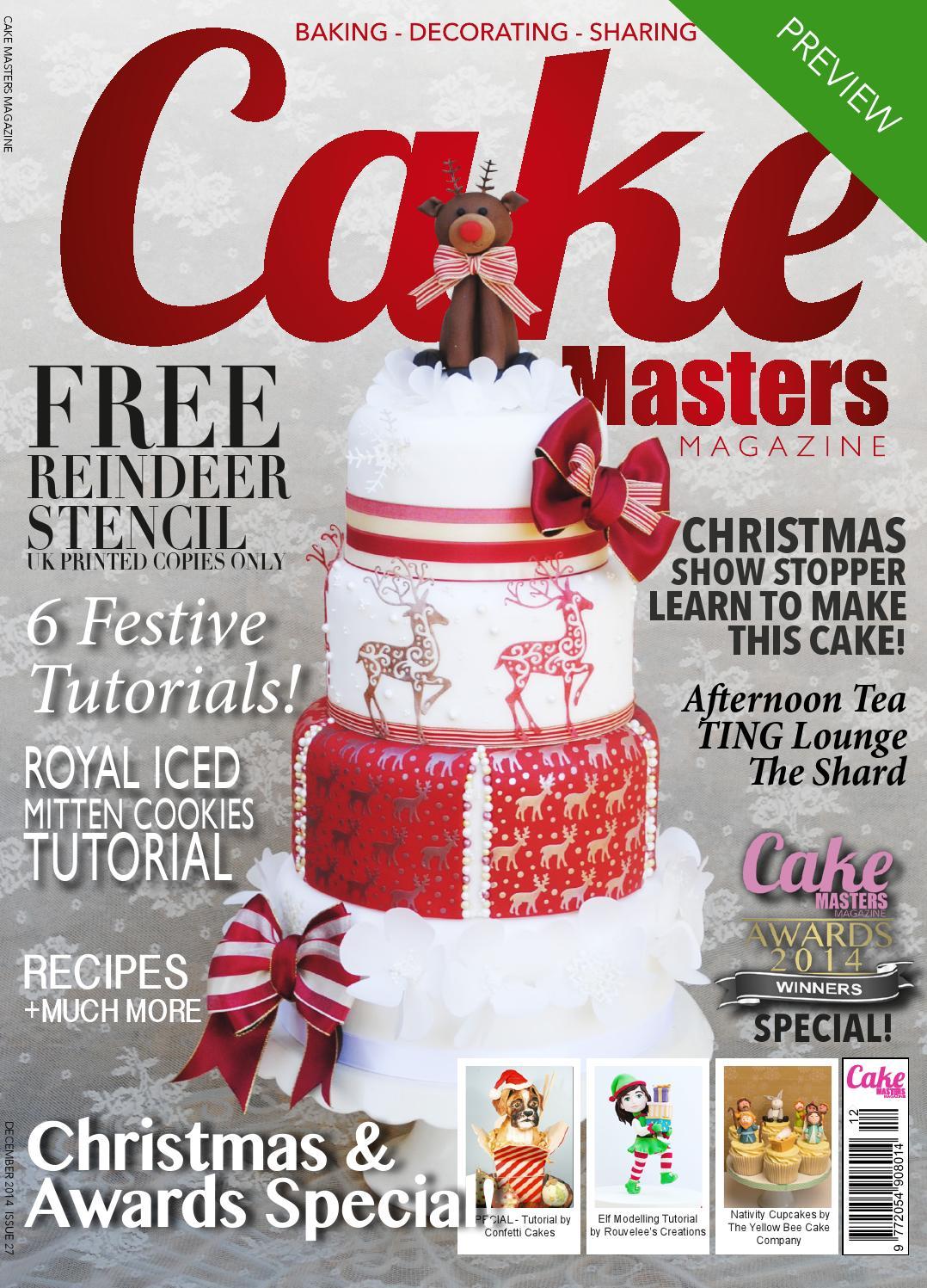 Cake Masters Magazine December 2014 By Cake Masters Issuu