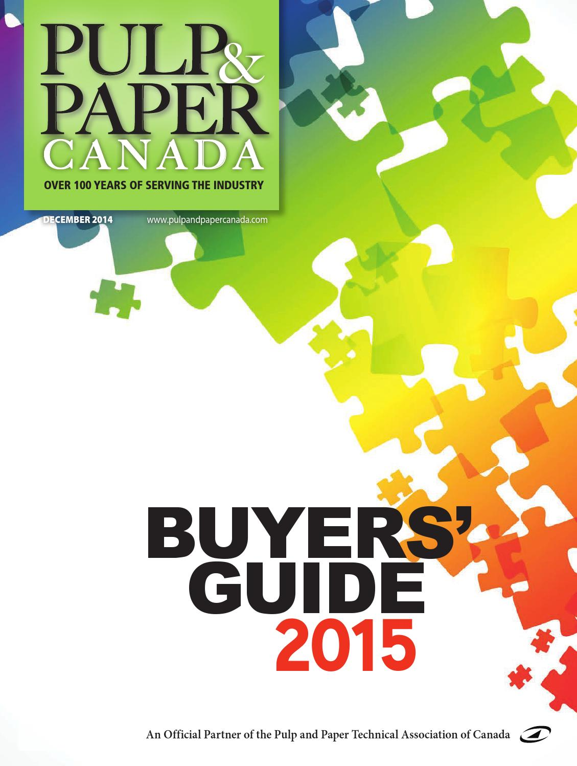 Pulp Paper Buyers Guide 2015 By Annex Business Media Issuu Cd 4013 Toggle Switch Design Trick 1 Electronics Hobby
