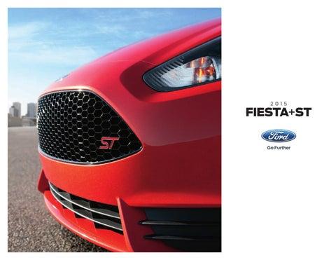 Bob Smith Motors >> 2015 Ford Fiesta Factory Brochure Bob Smith Ford By Bob