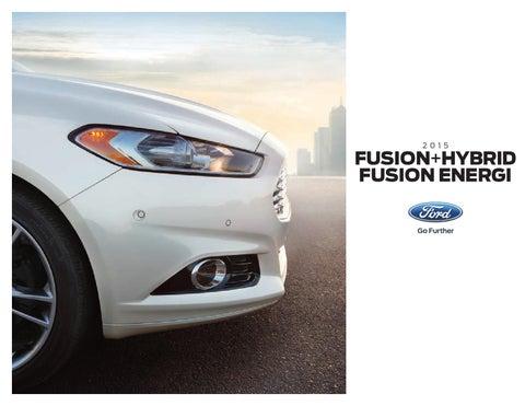 Bob Smith Motors >> 2015 Ford Fusion Factory Brochure Bob Smith Ford By Bob